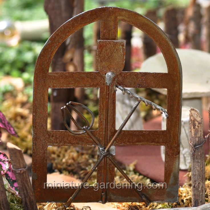 Miniature Gardening   French Garden Tool Gate   Brown $6.99780 X 780 |  179.4 KB |