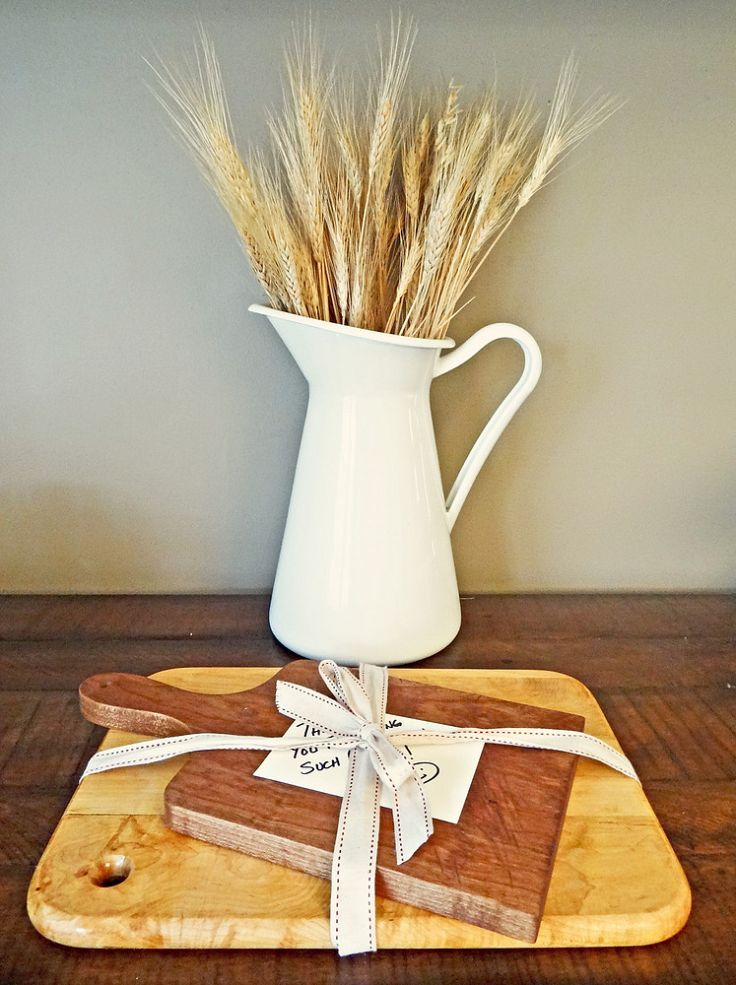 Ideas For Hostess Gifts For Dinner Party Part - 50: DIY Bread Boards: The Perfect Hostess Gift
