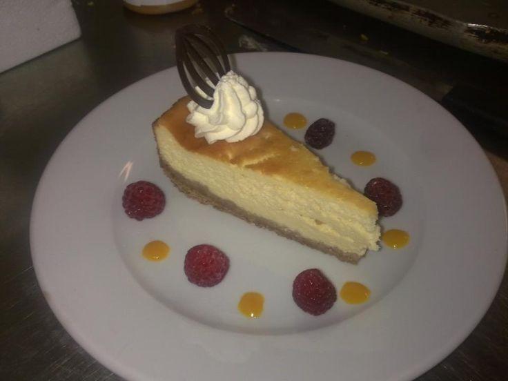 Plain Baked Cheesecake Recipe