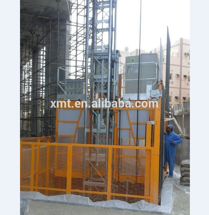 SC series Rack and Pinion Construction hoist,elevator,lift