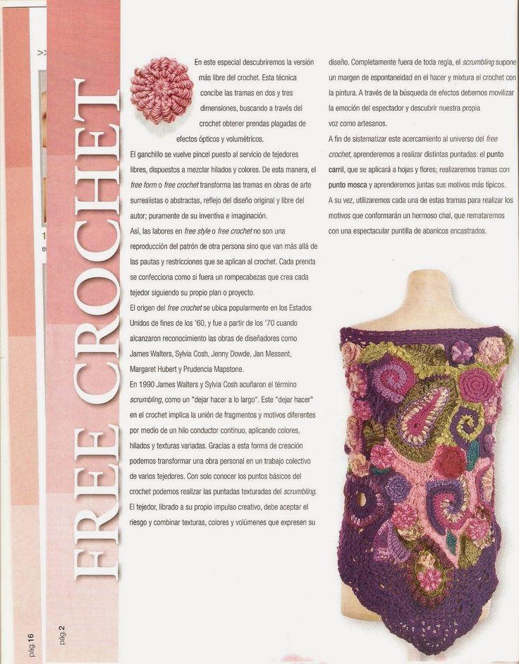 Increíble Las Pautas De Las Flores De Ganchillo Ornamento - Ideas de ...