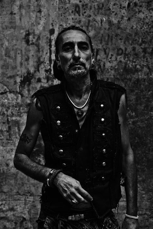 Faces - italian biker - delhi - india - http://kjetilhasselgaard.com