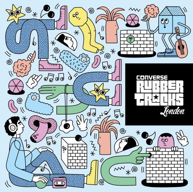 Converse Rubber Tracks | Martina Paukova | makersmgmt.com