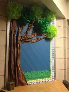 how to make paper awning for bulletin board - - Yahoo Image Search Results