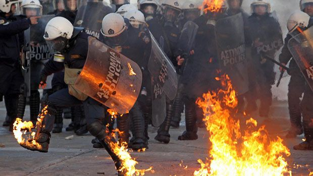 Greece has been rocked by protests as the country tries to extricate itself from a multi-year debt crisis.