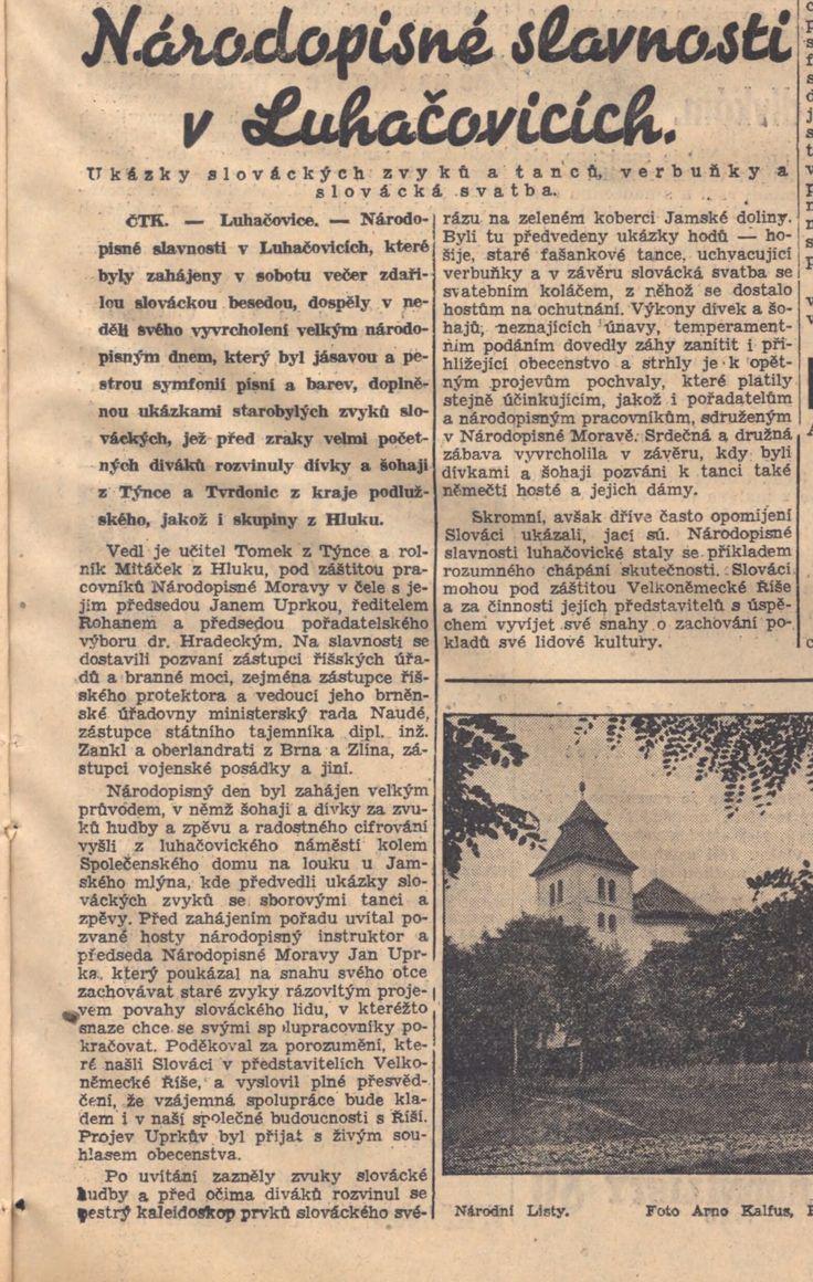 Národní listy, 29.7.1940
