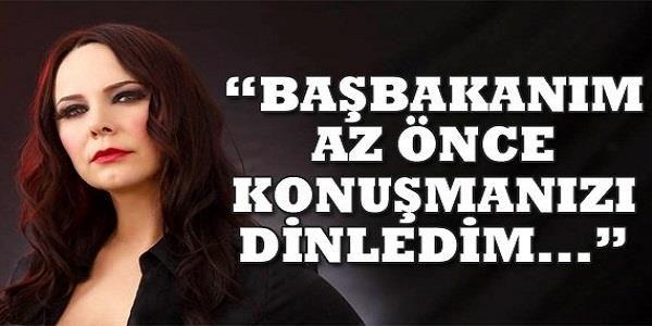 Haberin Ola! | Sayın Başbakanım, az önce konuşmanızı dinledim... - Ünlü şarkıcı Şebnem Ferah, Taksim Gezi Parkı olaylarıyla ilgili Başbakan Erdoğan'a hitaben bir mektup kaleme aldı.