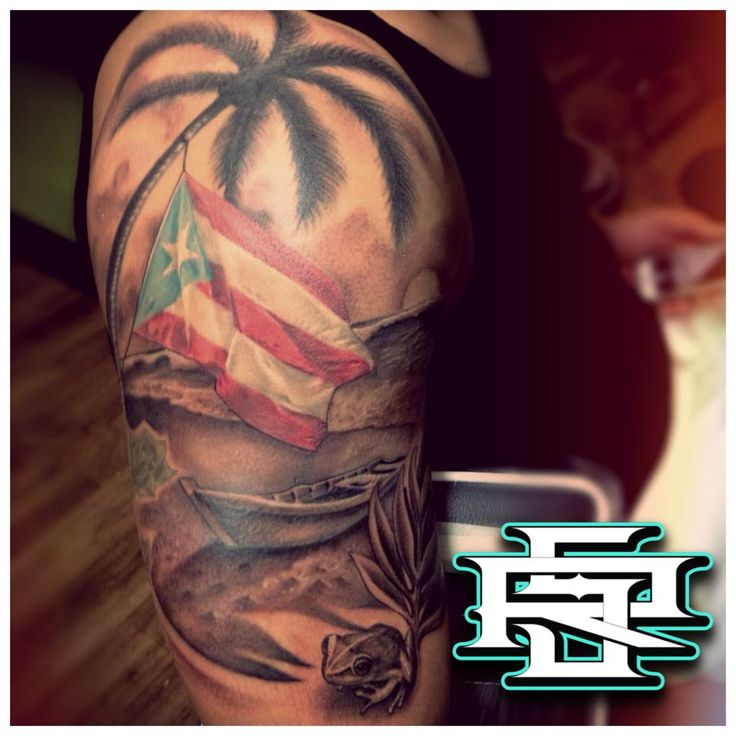 14 best tattoos images on pinterest puerto rico tattoo tattoo puerto rico half sleeve i busted sciox Choice Image