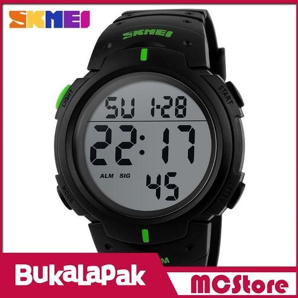 Beli MCStore Jam Tangan Pria SKMEI Pioneer Sport Watch Water Resistant 50m - DG10681 - Green2 dari MCStore habibwaldani - Jakarta Barat hanya di Bukalapak