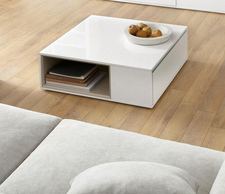 Modanuvo White Black Gloss Oak Extending Storage Coffee: Valencia White Coffee Table From Next