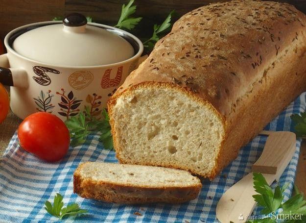 Chleb pszenno-żytni - łatwy i chrupiący z foremki