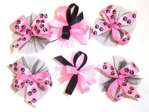 cute dog bows