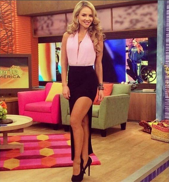 Ximena Cordoba Today Wearing Gg On Despierta American Tv