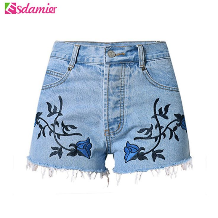#aliexpress, #fashion, #outfit, #apparel, #shoes #aliexpress, #Fashion, #Embroidery, #Denim, #Shorts, #Flower, #Waist, #Jeans, #Short, #Femme, #Summer, #Casual, #Female, #Shorts