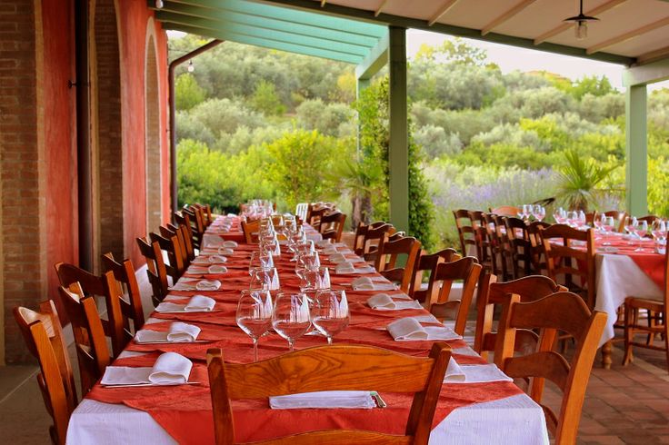 Una bella tavolata .. #dinner #agriturismo #verona