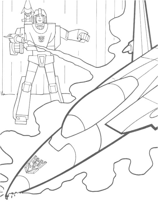 transformers printable coloring pages take that jet transformers coloring pages