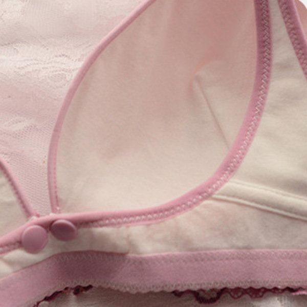 Nursing Wireless Front Closure Lace Adjustable Bras On Sale - NewChic