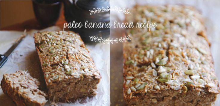 Paleo Banana Bread - A guilt-free treat - Move Nourish Believe
