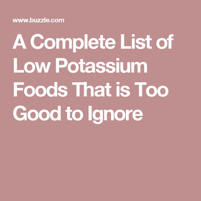 Intrepid image pertaining to low potassium food list printable
