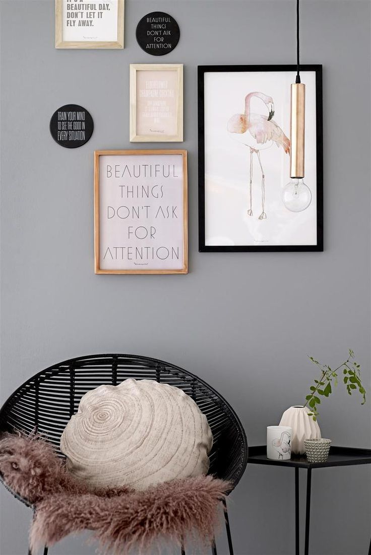 'Beautiful Things' typography print. Inspirational quote is printed on blush paper and framed in a stylish copper picture frame. This piece of wall arts works well in most room in the homes, particularly in home offices or lounges. Colours such as smoke grey, white and pastel pinks compliment this decorative this perfectly.