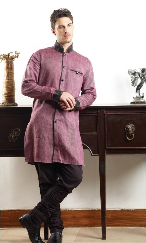 #Wine Linen Readymade #Pathani #Suit @ $186.66