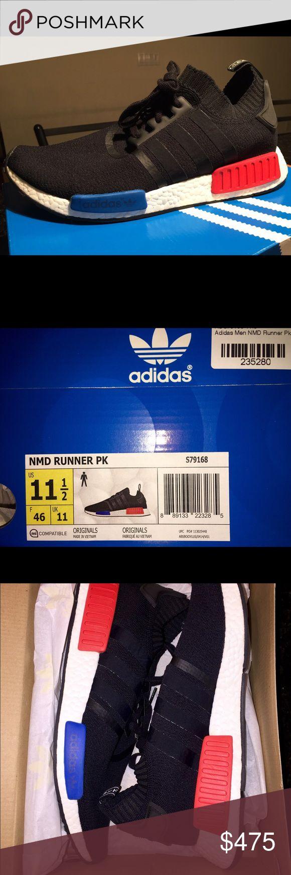 adidas nmd runner blu - etichetta shoesonline