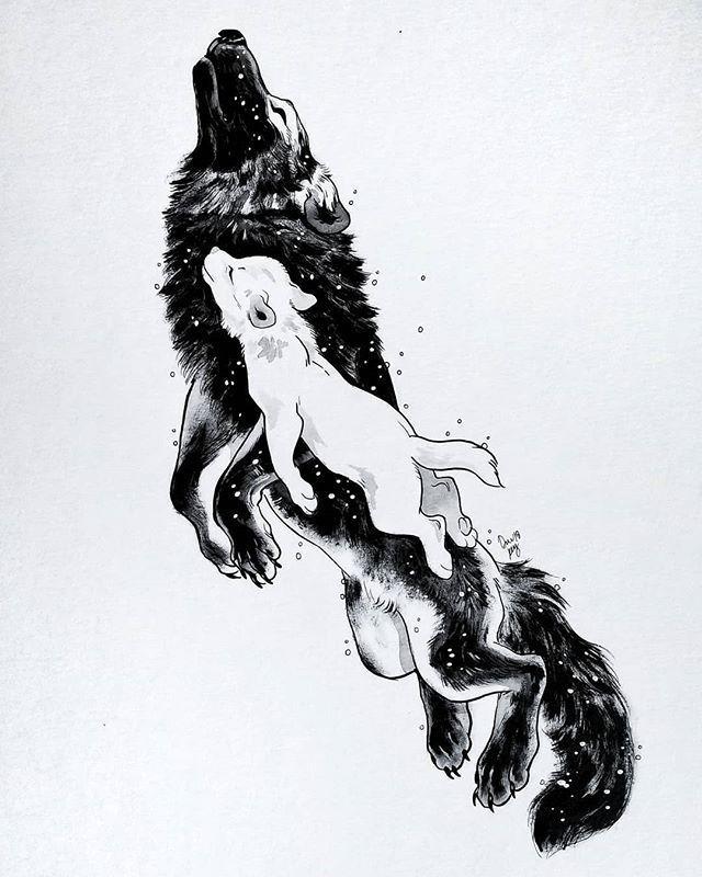 Wolf zeichnungen🐺 – #wolf #zeichnung #Zeichnung…