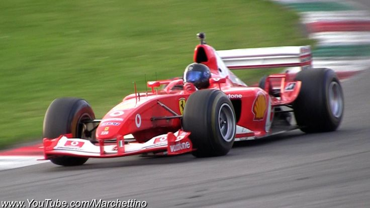 Ferrari F1 F2002 V10 PURE Exhaust Sound!