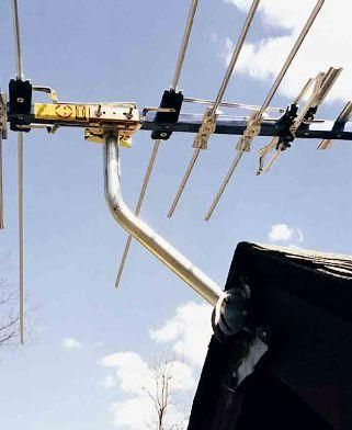 Universal One-Legged Antenna Mount by Rohn