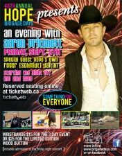 """Aaron Pritchett with Roger """"Schm... at Hope Sports Bowl on Friday, Sep 05, 2014 7:00 PM PDT"""