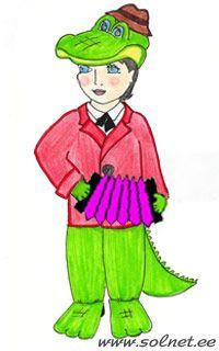 Как сделать костюм крокодила своими руками