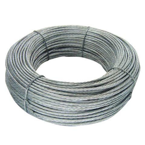 Temacasa | Cable de Acero Galvanizado de 5mm Para Barandas o Cercos - COMPRALO ONLINE!