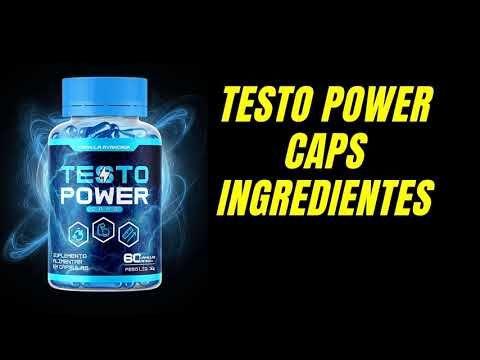 testo power caps como usar