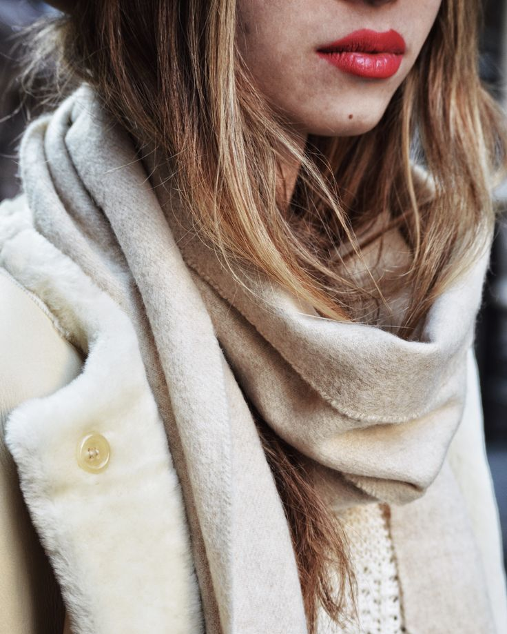 Warm creme look for the freezing winter days | More of my photos in my instagram @marilou_an
