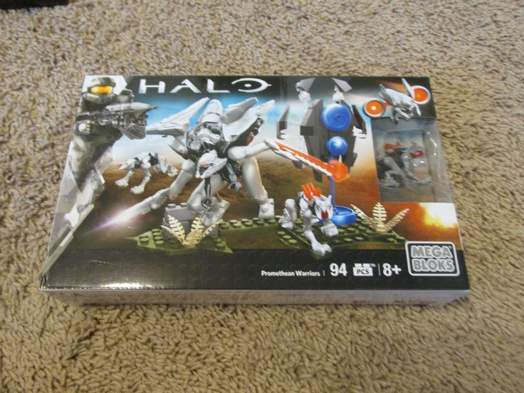 Halo video game Mega Bloks Promethean Warriors w Weapons 94pcs NEW | Toys & Hobbies, Building Toys, Blocks | eBay!