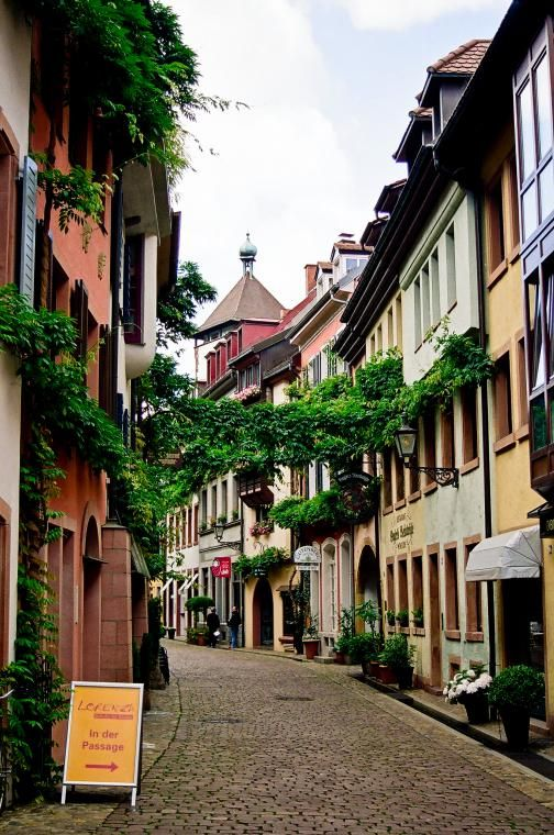 Freiburg Germany Portrait Of A 16 Year Old Girl Stock: Old Town, Freiburg, Germany