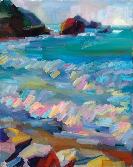 """""""Pacifica Plein Air"""" by Lena Levin--seriously love this artist"""