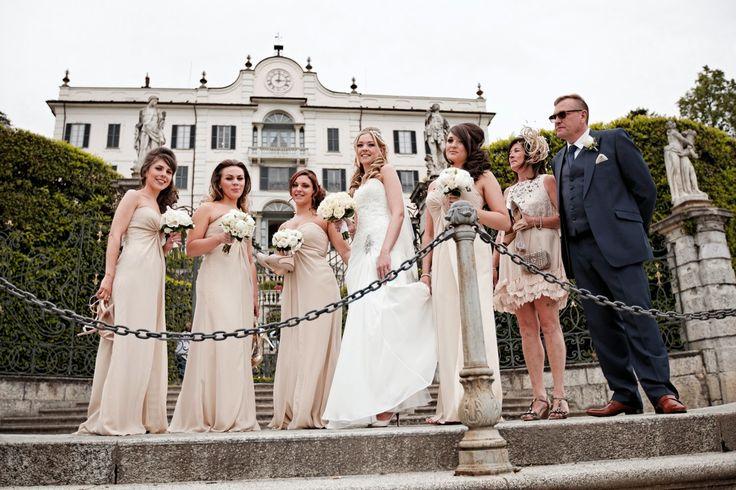 Wedding in Villa Carlotta.