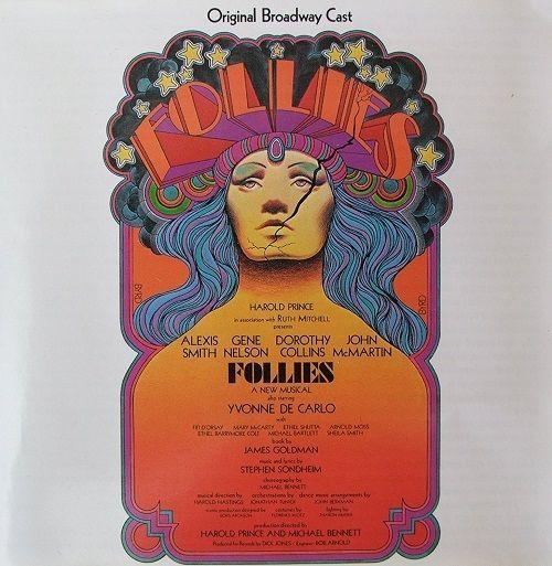 Follies Original Broadway Cast Musical - Stephen Sondheim -Harold Prince CD 1989