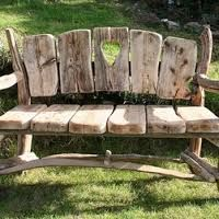 handmade dp bench cedar driftwood amazon com woodworks trw