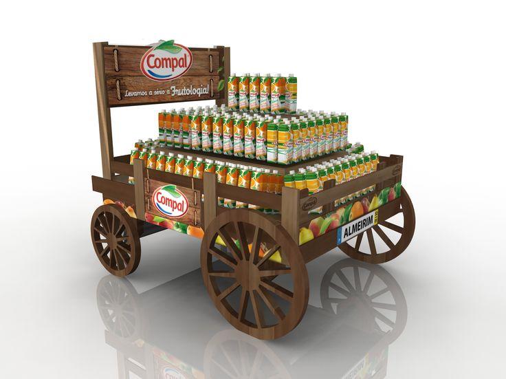 Com a carroça da Sumol+Compal, a Brandkey - Marketing Activation venceu na categoria de ilhas de bebidas, nos Popai Portugal Awards de 2014. Muitos parabéns pela conquista do Índio de Ouro!