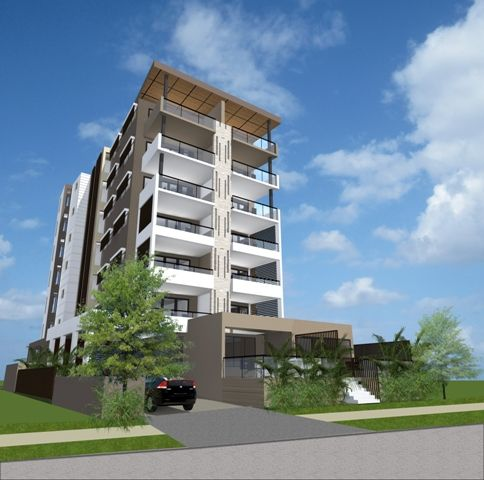 Tweed Heads Apartments - a 7 storey apartment building close to shops, schools and sea.