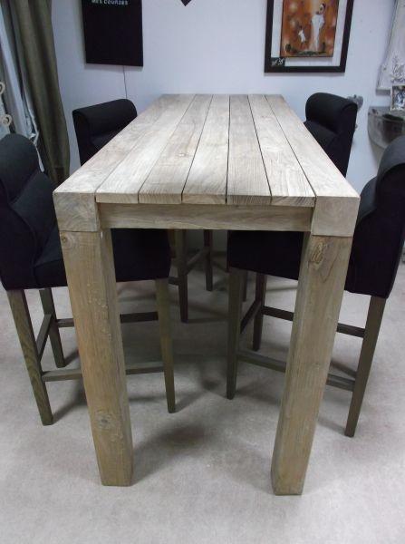 1000 ideas about mange debout on pinterest table bar. Black Bedroom Furniture Sets. Home Design Ideas