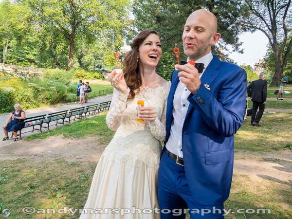 A Danish Wedding on Cherry Hill in Central Park | Weddings in Central Park, New York