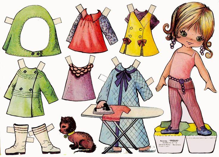 Muñecas Recortables                                                       …
