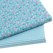 Yeni varış 2pic/lot 40*50 cm pamuk kumaş tecidos kumaş patchwork dikiş bebek yatak tissu DIY bebek kumaş kumaşlar yorgan(China (Mainland))