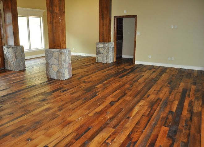 1000 images about beautiful wood floor finishes on pinterest for Salvaged oak flooring