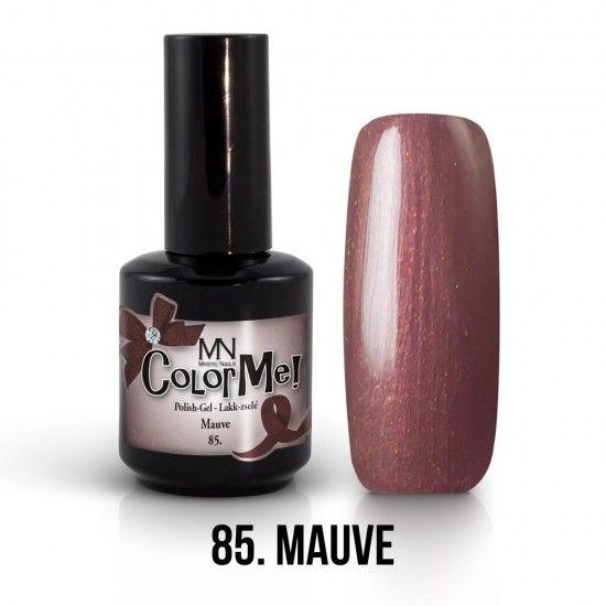ColorMe! no.85. - Mauve 12ml gel polish lakkzselé gél lakk nail art mystic nails