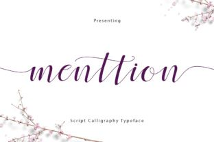 FREE FONTS http://Menttion Script is a stunning handwritten font packed with stunning, PUA encoded, swashes.