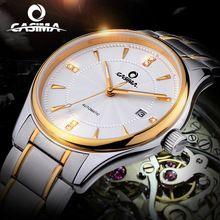 CASIMA luxury brand watches men Automatic mechanical fashion business dress classic watch gold waterproof 100m #6905(China (Mainland))